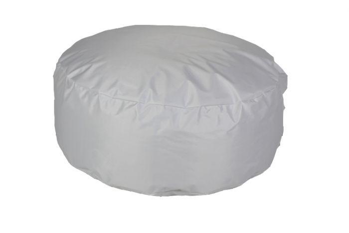 Kussen Wit 8 : Loungepoef met binnenkussen wit