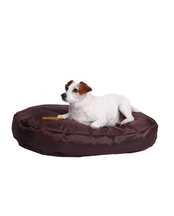 Hondenkussen Nylon 90x55 bruin