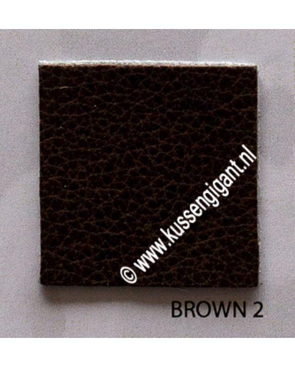 Kunstleer Brown 2