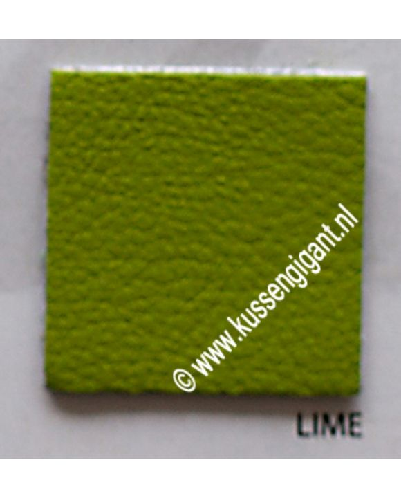 Kunstleer Lime