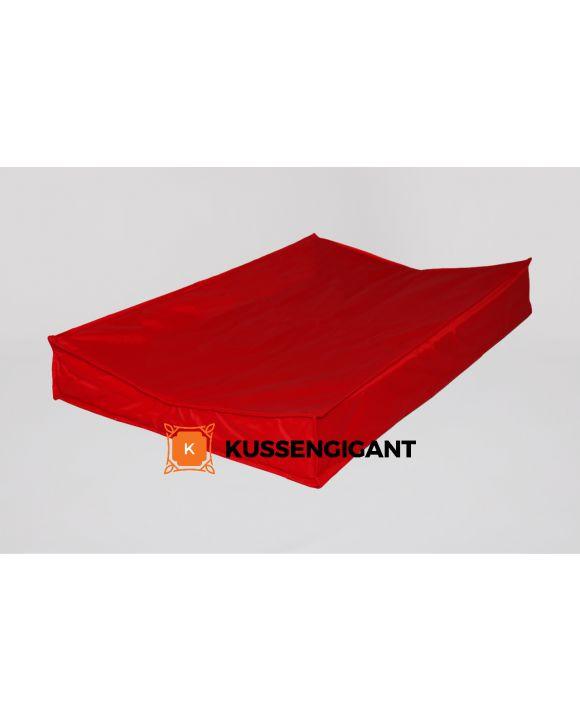 Aankleedkussen Rood XXL 90x55cm, Aankleedkussen rood XXL 70x45cm