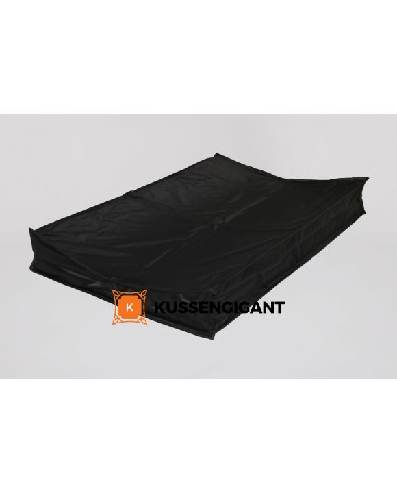Aankleedkussen zwart XXL 90x55cm, Aankleedkussen zwart XL 70x45cm